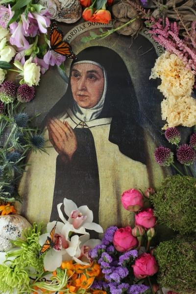 SANTA TERESA DE JESÚS. Meditar con flores